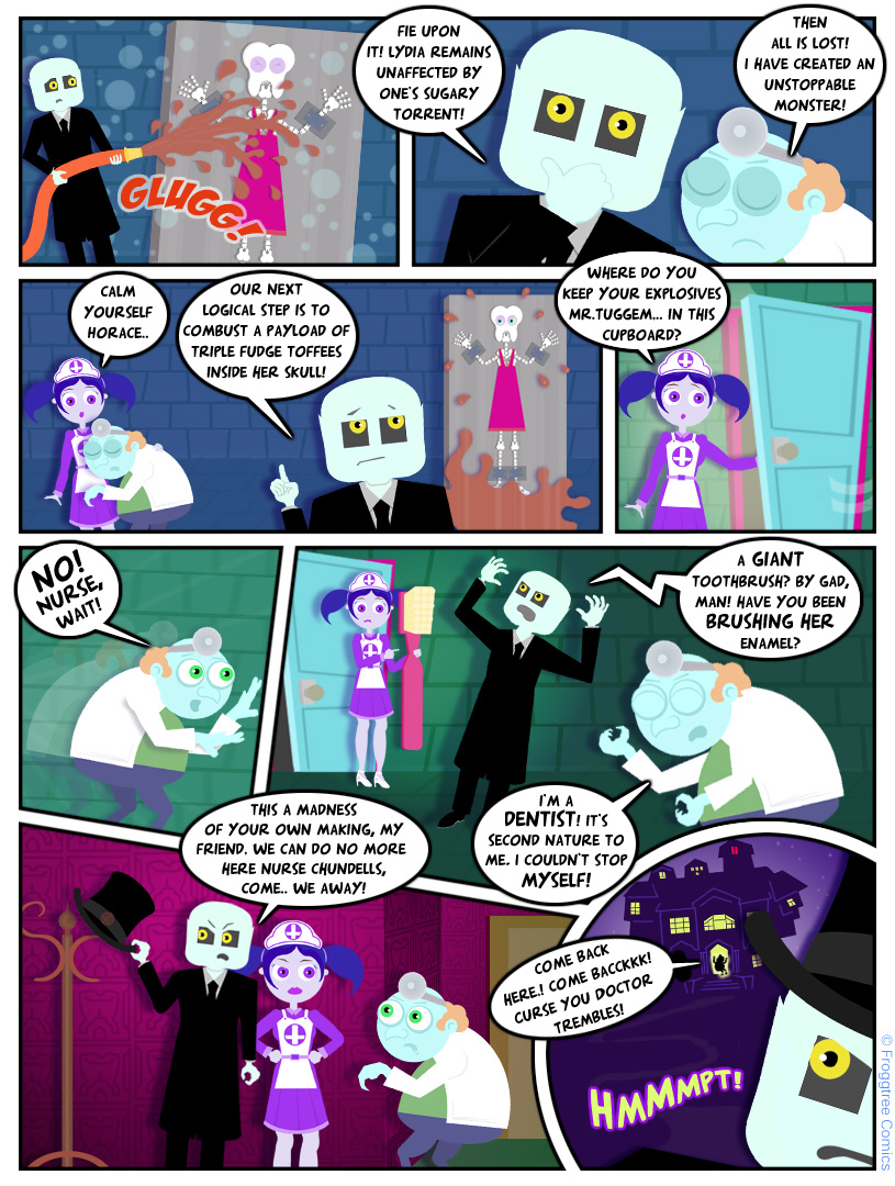 Doctor Trembles and The Toothy Terror (3/3)